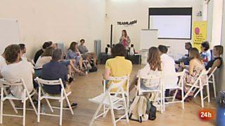 Cámara abierta 2.0 - Unreasonable Lab Spain, Poesía en la red, Cyrano entre Almagro y el Lab de rtve y Daniel Guzmán en 1minutoCOM