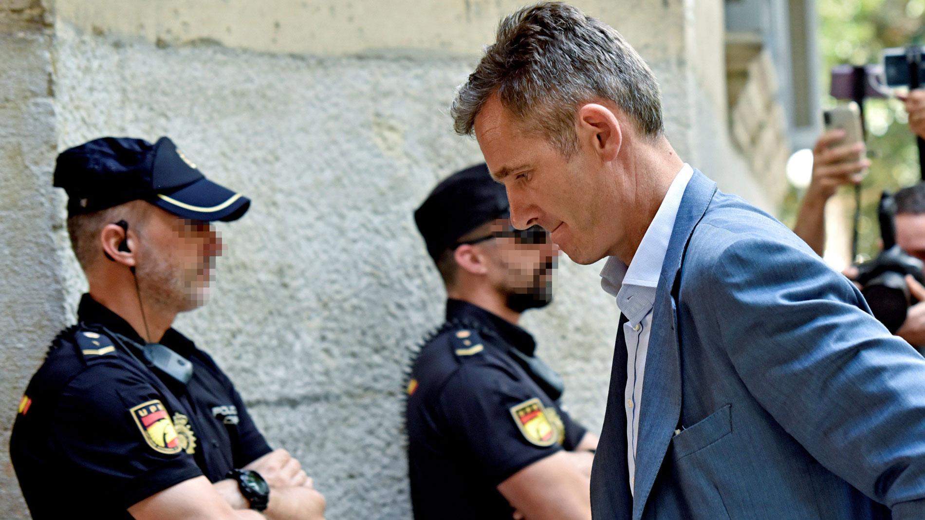 Urdagarin ya está en España, a pocas horas de que acabe el plazo para su entrada en prisión