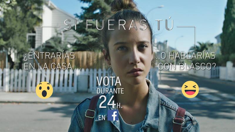 El usuario puede votar qué camino ha de tomar Alba