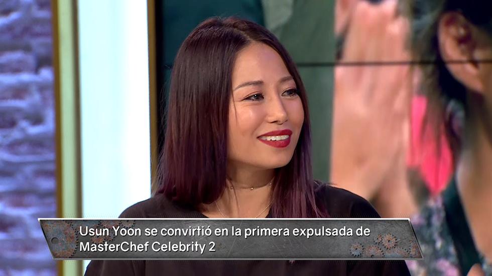 Usun Yoon se convirtió en la primera expulsada de #MCCelebrity. ¡Lo revivimos con ella en 'Hora Punta'