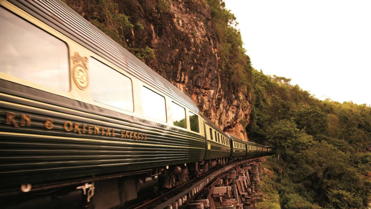 Vagones del lujoso Orient Express