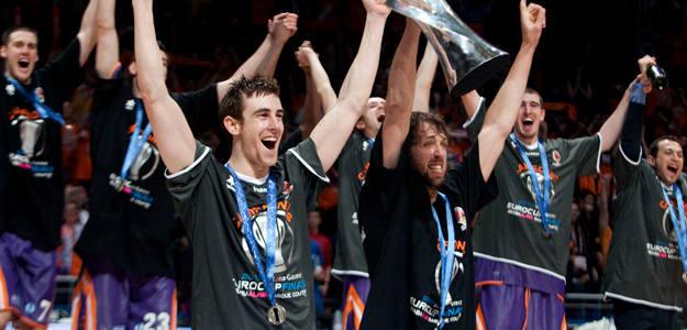 Valencia campeón de la eurocup en Vitoria