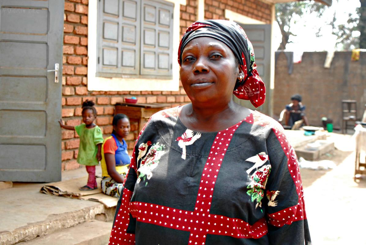 Valerie Nganga añora la convivencia pacífica entre musulmanes y cristianos. Foto: M.J. AGEJAS