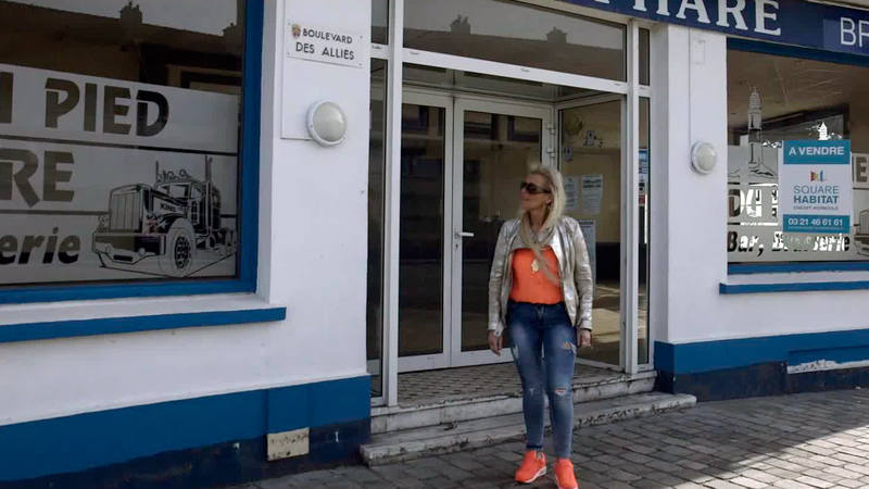 Valerie, votante del FN, tiene cerrado su restaurante