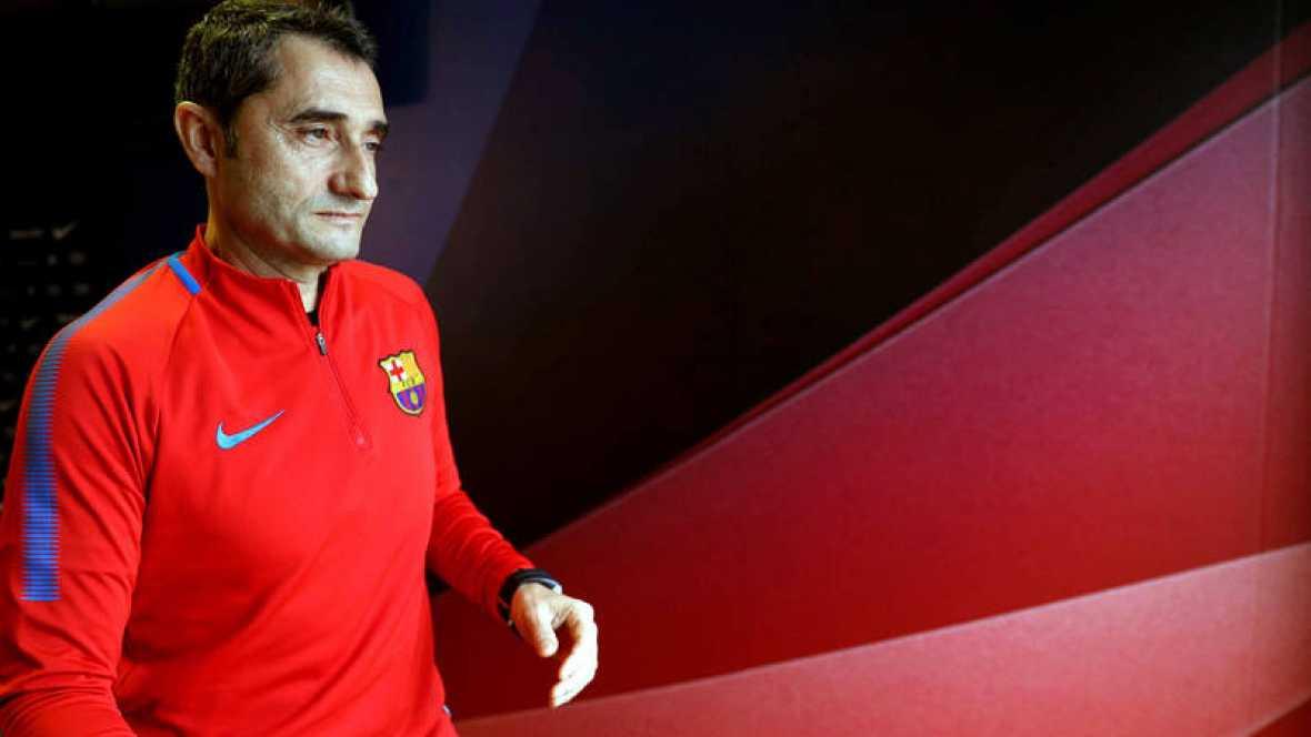 """Valverde advierte: """"El Celta ha marcado siempre fuera de casa"""""""