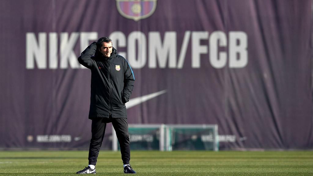 Valverde da fiesta a la plantilla del Barça hasta el día 2 de enero