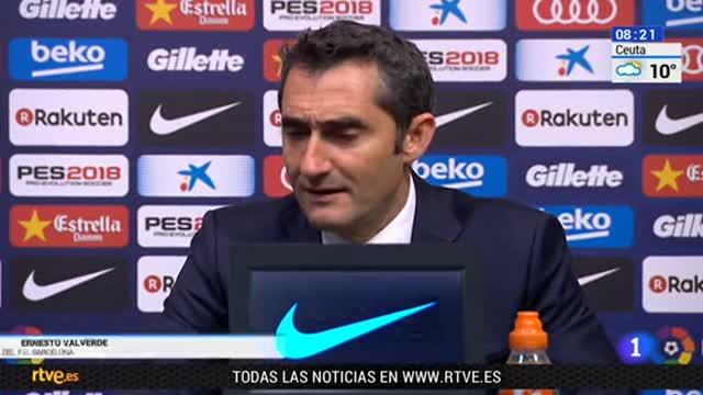 Valverde y Marcelino dan por bueno el trabajo de sus equipos en la ida de Copa