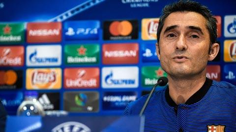 """Valverde: """"Nos preocupan todos y ninguno"""""""