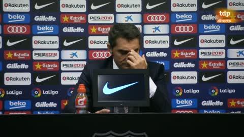 """Valverde: """"Ha sido una situación difícil y nos ha costado entrar en partido"""""""