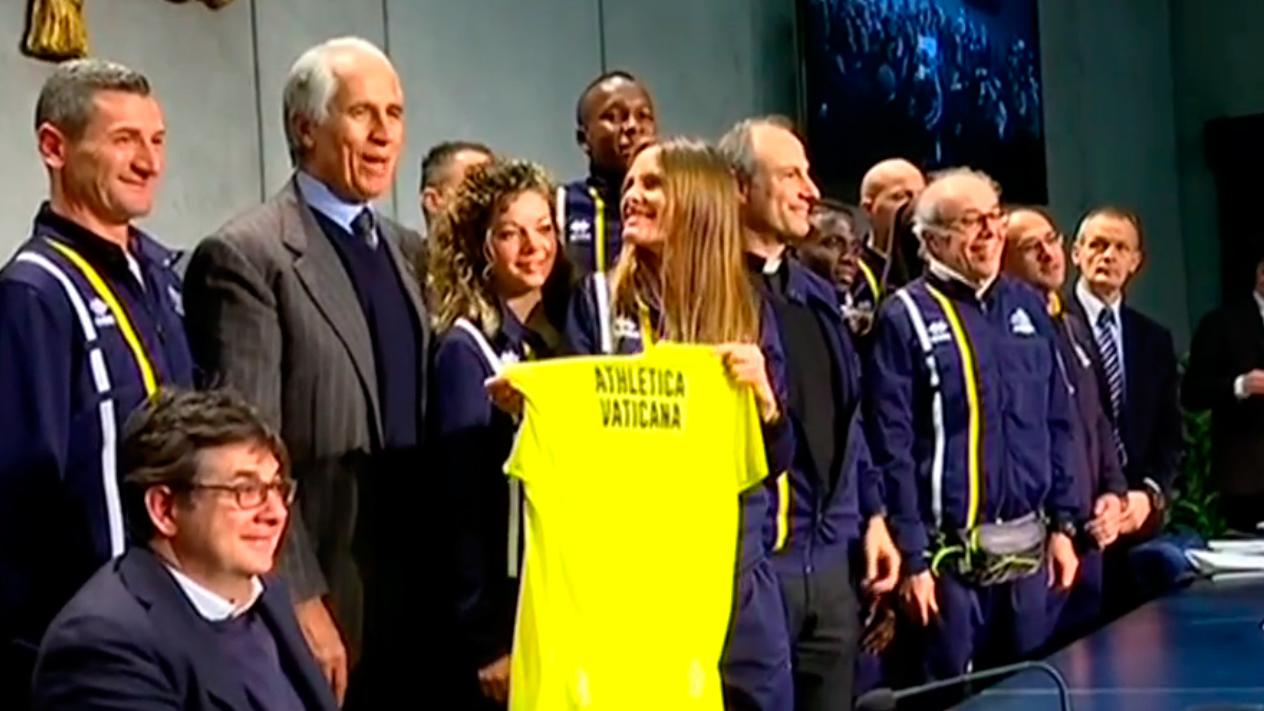 El Vaticano estrena equipo de atletismo: el club Athletica Vaticano