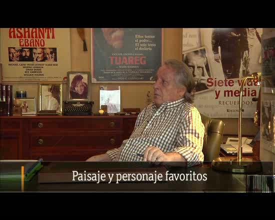 Vázquez-Figueroa: paisaje y personaje favoritos