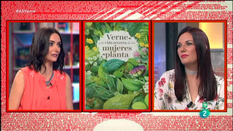 La Aventura del Saber. TVE. Ledicia Costas. 'Verne y la vida secreta de las mujeres planta'