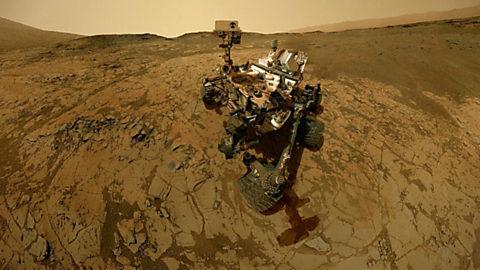 El cazador de cerebros - Viaje a Marte