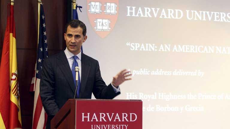 Declaraciones del Príncipe Felipe en Harvard