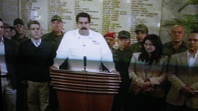 Venezuela llora la muerte de su l der ch vez vive para for Perdida de senal tv