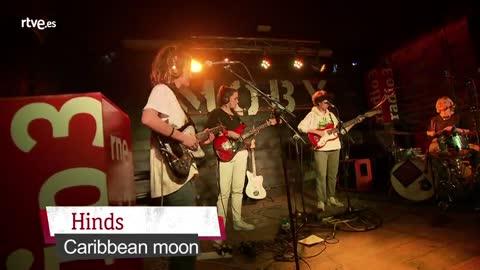 VÍDEO: Hinds, 'Caribbean Moon' (Directo en salaMoby Dick) - 13/04/18