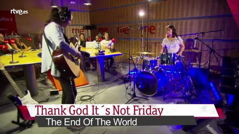 "VÍDEO: Proyecto Demo - Thank God It's Not Friday, ''The End of the World"" - 26/06/18"