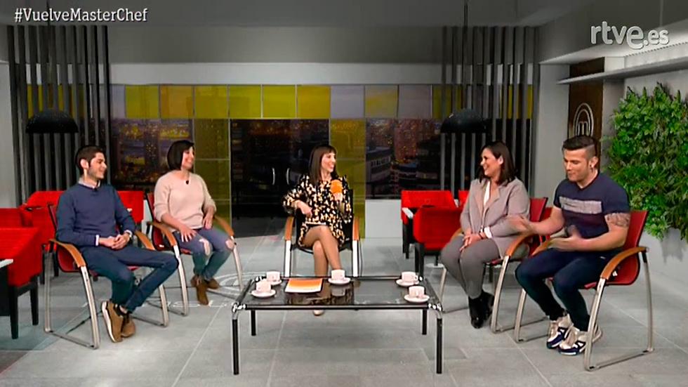 Sí chef - Videoencuentro con Fabián, Vicky, Carlos y Virginia de Masterchef