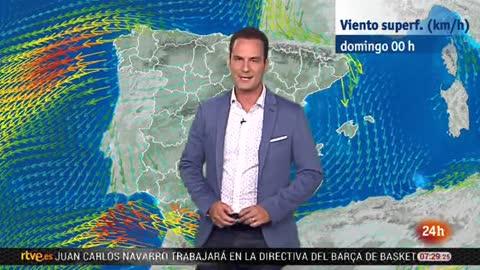 Viento fuerte con rachas muy fuertes en Estrecho, Cádiz y Almería