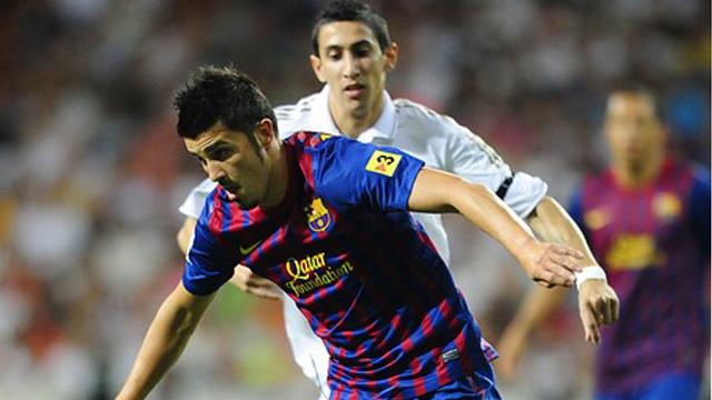 Villa empata para el Barça (1-1)