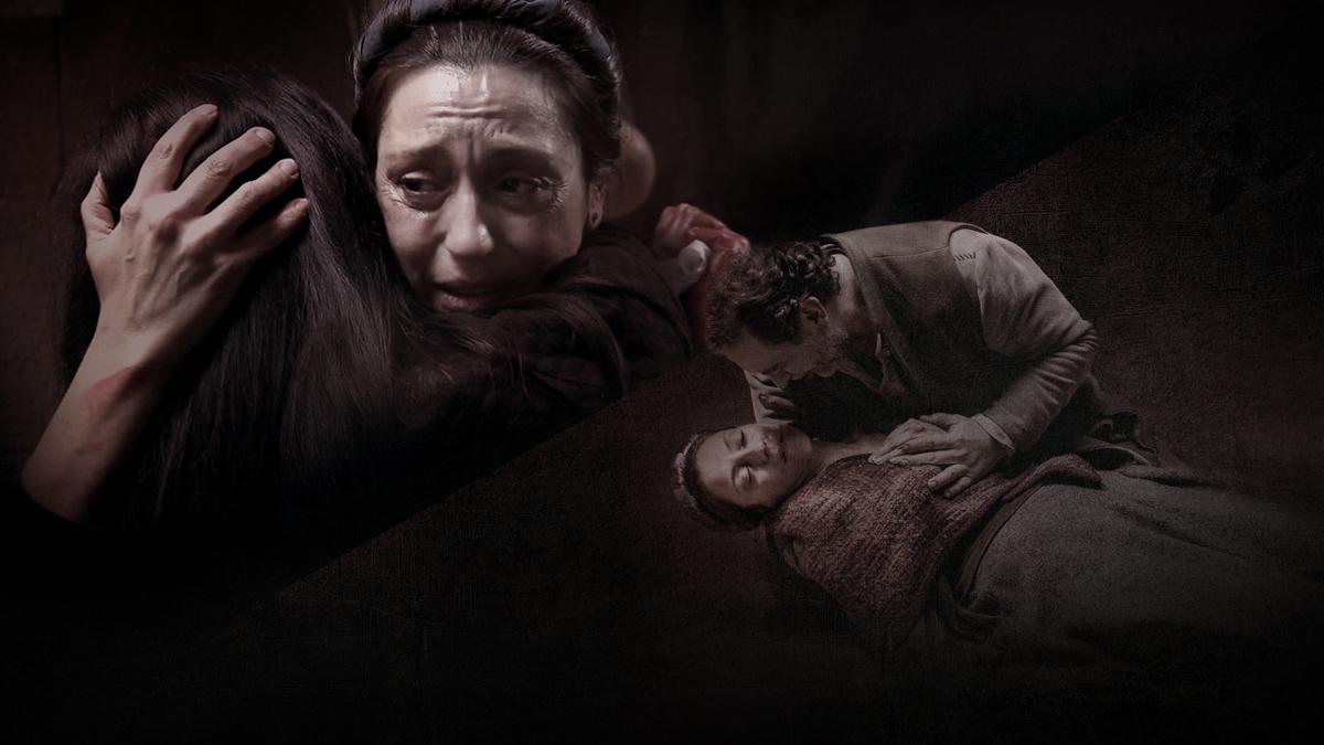 Águila Roja - La Villa llora la muerte de Catalina delante y detrás de las cámaras