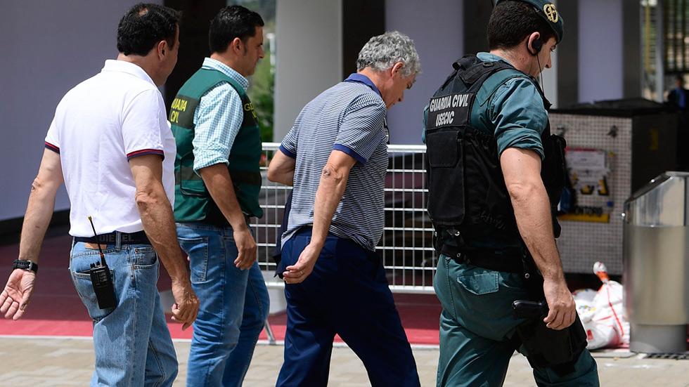 Villar pasa a disposición judicial