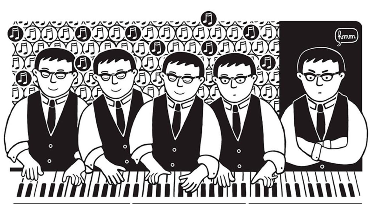 Viñeta de 'El piano oriental'