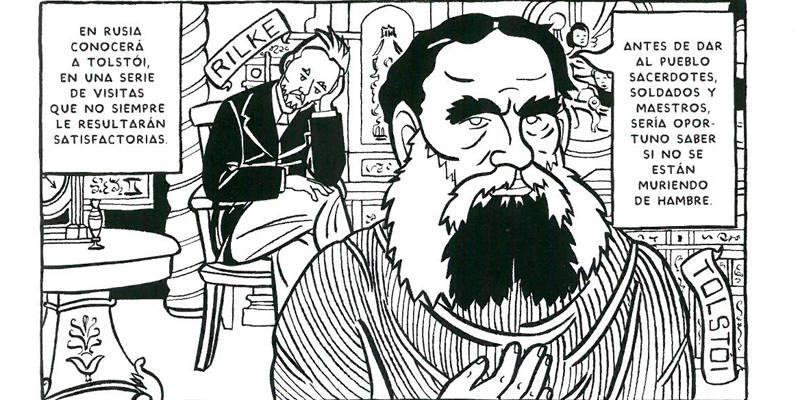 Viñeta de 'Yo, Rilke'
