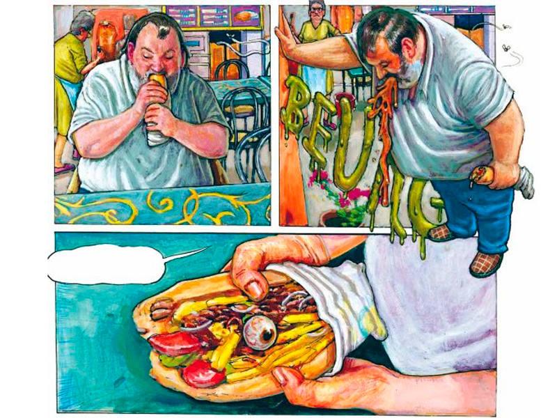 Viñetas de 'El caso Alain Lluch'