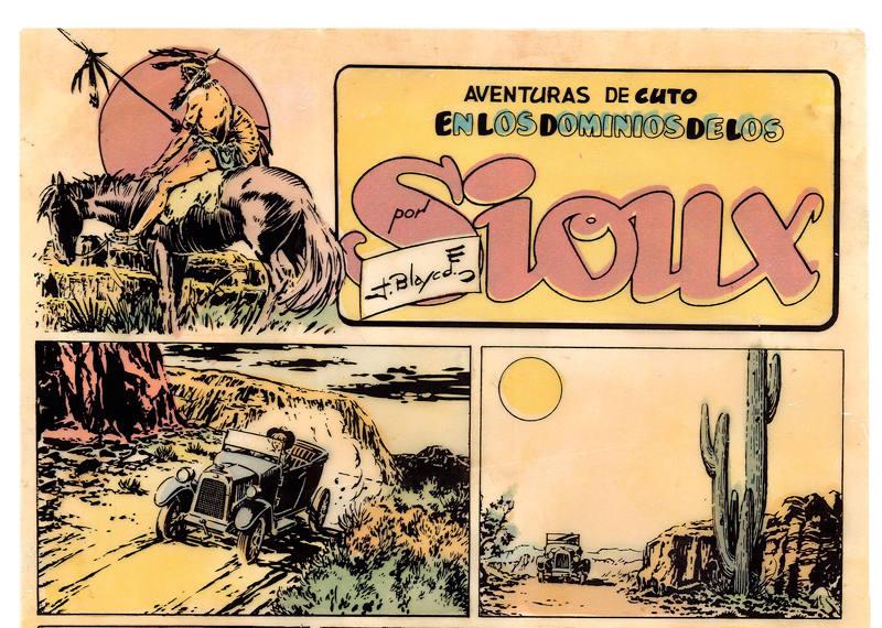 Viñetas de 'Cuto', de Jesús Blasco