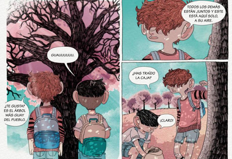 Viñetas de 'El final de todos los agostos'
