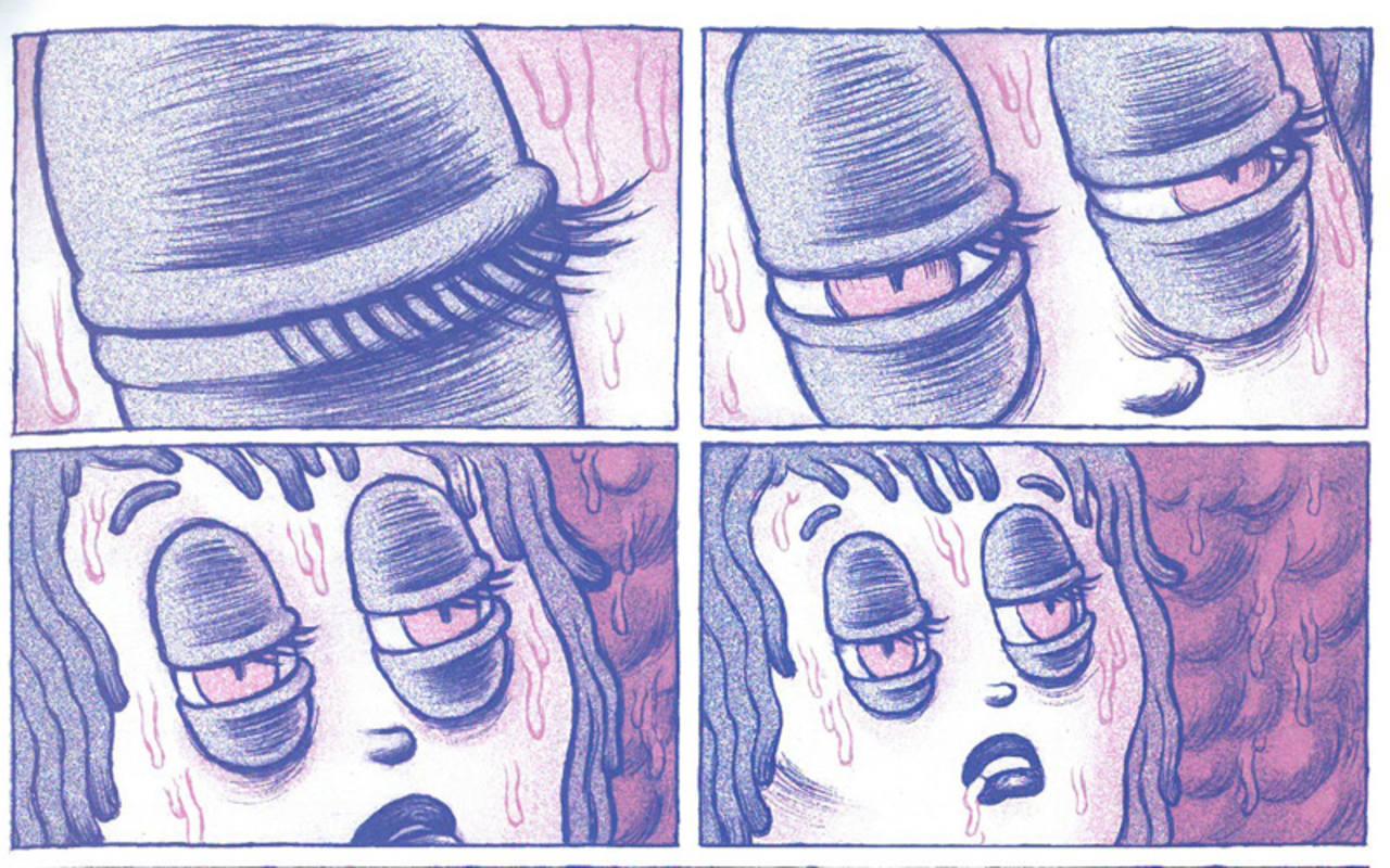 Viñetas de 'Gummy Girl'