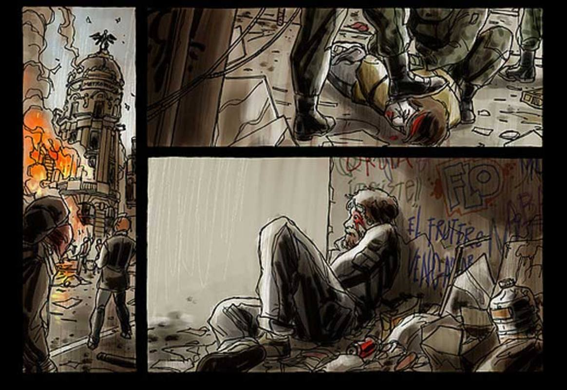 Viñetas de 'Hoy es un buen día para morir'
