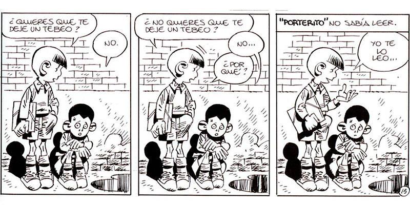 Viñetas de 'Paracuellos', de Carlos Giménez