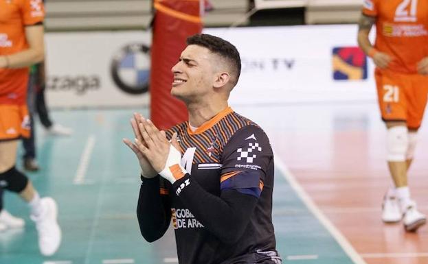 Vinicius Noronha, jugador del Voleibol Teruel, encontrado muerto en su domicilio