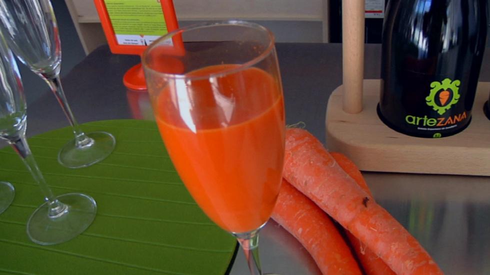 Aqui La Tierra - Vino ¿de zanahoria?