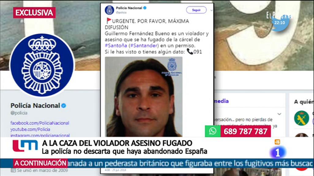 La mañana - El violador asesino fugado podría estar fuera de España
