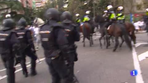 La violencia ultra y su huella en España la temporada pasada