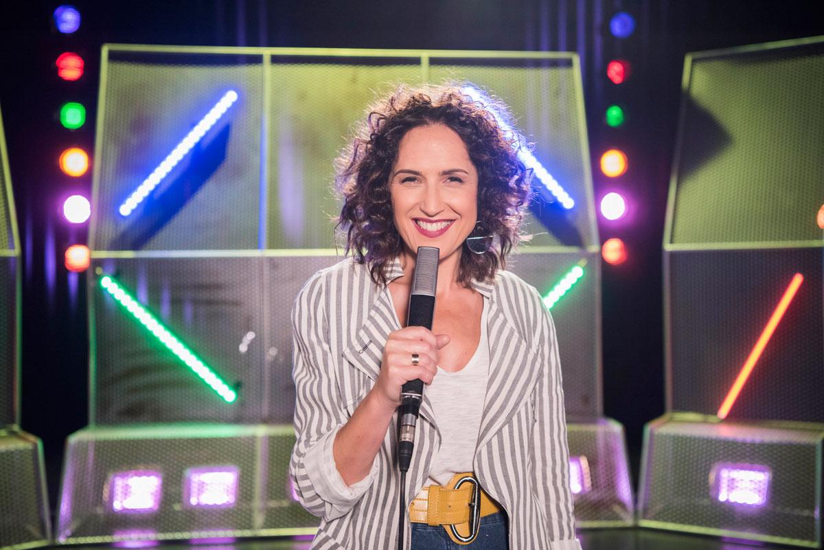 Virginia Díaz, estrella de Cachopop