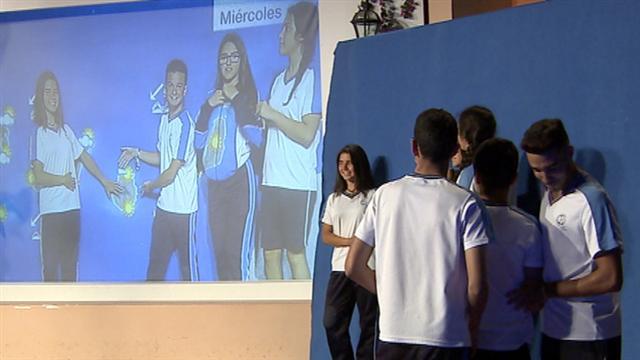 Visita colegio Sagrada Familia - 04/05/2016