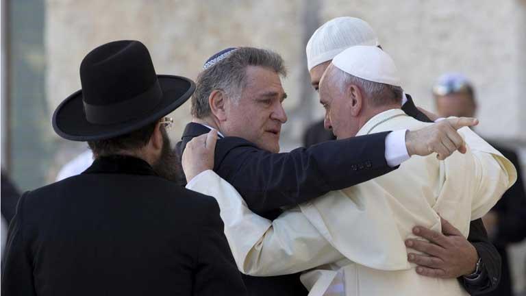 El papa Francisco visita en Jerusalén los lugares más sagrados de judíos y musulmanes