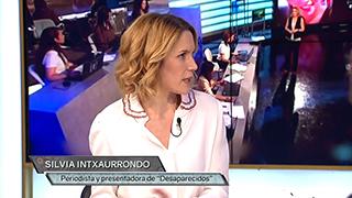 Nos visita Silvia Intxaurrondo presentadora de 'Desaparecidos'. Nos destacó que las redes sociales es clave para el programa
