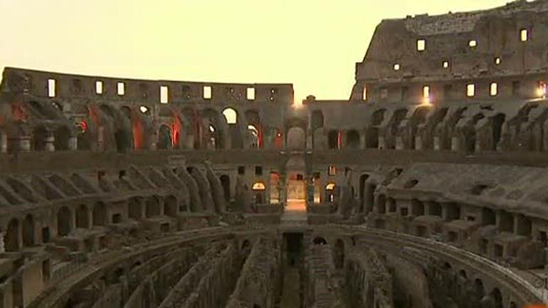 Visitas nocturnas al Coliseo de Roma