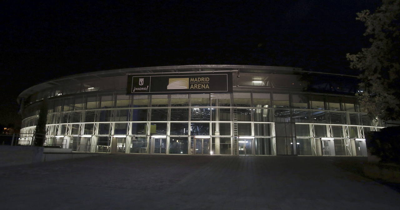 Vista exterior del pabellón Madrid Arena