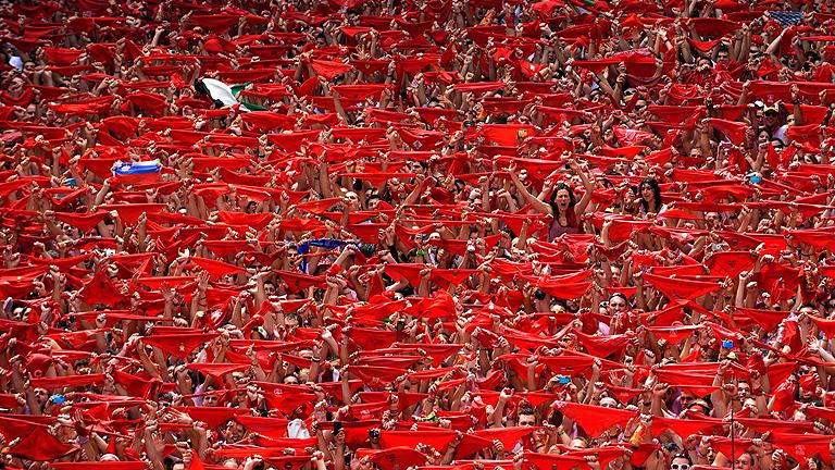 Así comienzan nueve días en los que Pamplona no dormirá