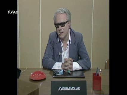 Arxiu TVE Catalunya - Vostè pregunta - Joaquim Molas
