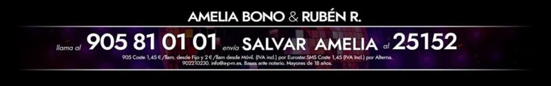 ¡Vota para salvar a Amelia Bono!