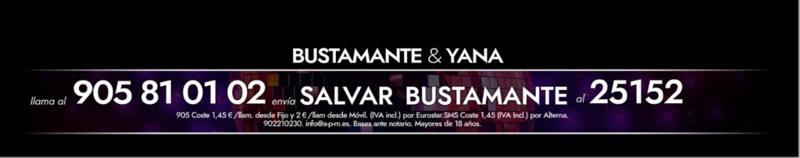 ¡Vota para salvar a David Bustamante!