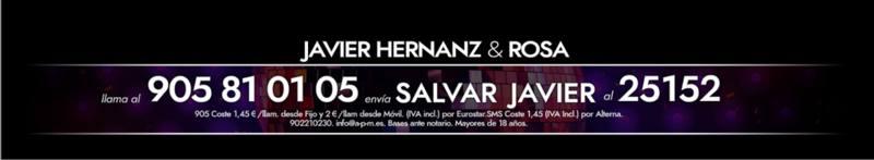 ¡Vota para salvar a Javier Hernanz!
