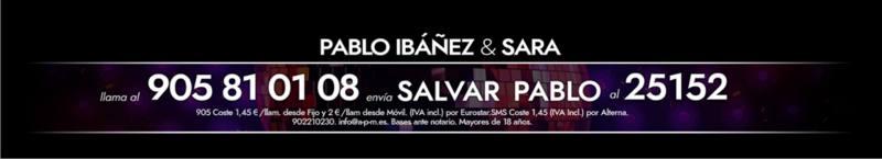 ¡Vota para salvar a Pablo Ibáñez!